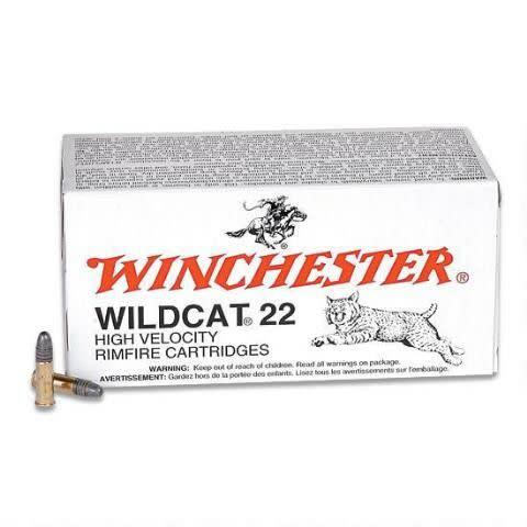 Winchester 22LR Wildcat 50rds single?>