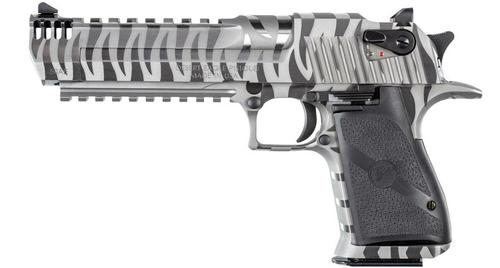 DESERT EAGLE .50 AE WHITE TIGER STRIPES SPECIAL EDITION?>