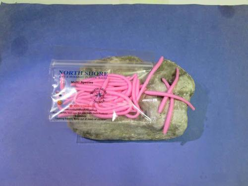 North Shore North Shore Tackle BUBBLE GUM 3'' multi speices worms?>