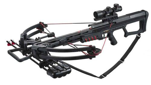 Man Kung MK400 175LB Compound Crossbow with Anti-Dry Fire Mechanism?>