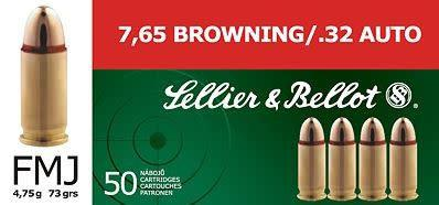 Sellier & Bellot Sellier & Bellot (S&B) 32 ACP 73gr FMJ?>