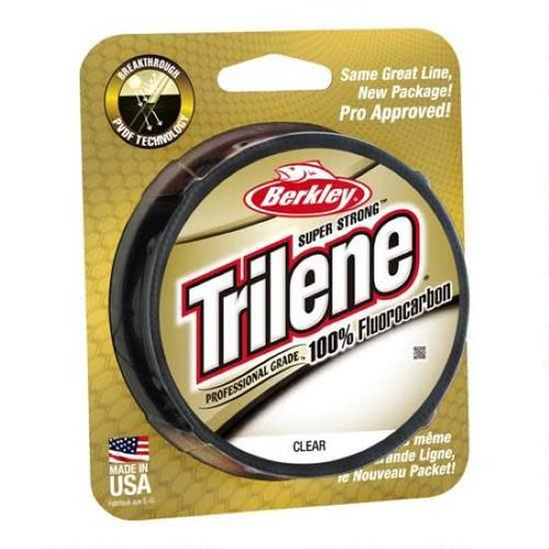 Berkley Trilene 100% Fluoro 8 lb Test 200 yd Fishing Line?>