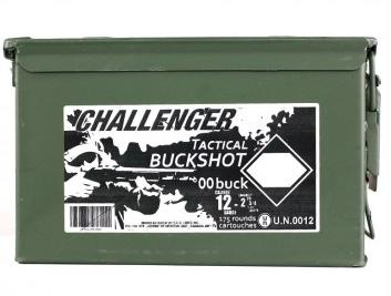 Challenger 12ga 2 3/4 00 Buck shot pack Magnum single?>
