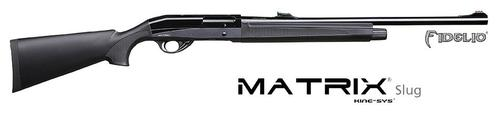 Khan Khan Matrix fidelio 12 gauge 3.5'' 28'' 5+1 rd black fiber front sight 6.6lb?>