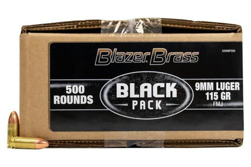 CCI Blazer Brass Black Pack 9mm 115gr FMJ?>