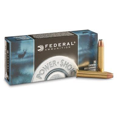 Federal Federal Power-Shok, .45-70 Government, SHCSP, 1850fps 300 Grain, 20 Rounds?>