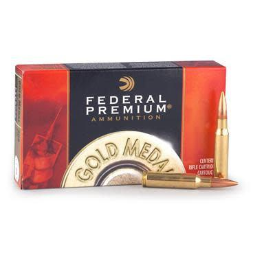 Federal Premium Gold Medal .308 Win. MKS BTHP, 168 Grain, Sierra matchking 20 Rounds?>