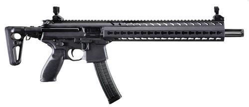Sig Sauer Sig Sauer  MPX Carbine Semi-Auto Rifle, 9MM, 16'' Bbl, Black, 5 Rnd, Collapsible Stock?>