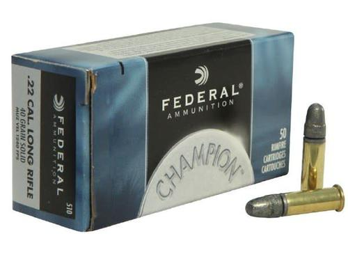 Federal 510 22LR 40gr Solid 1240gps 500/box?>