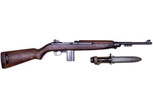 "(RES) M1 CARBINE SURPLUS .30CAL 18"" BBL WOOD STOCK & BAYONET?>"