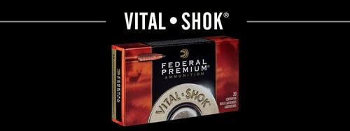 Federal Federal  Premium Vital-Shok Rifle Ammo 308 WIN, NP, 180 Grains 2570 fps, 20, Boxed?>