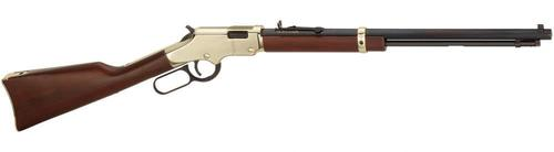 Henry Henry Lever Rifle H004 22LR  Ambi BluedWood Golden Boy 20 In 16+1rd?>