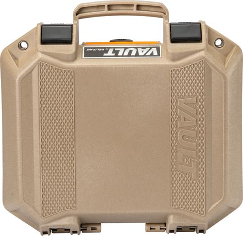 Pelican Vault V100 Small Pistol Case With Foam TAN?>