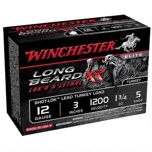 WINCHESTER Winchester STLB1235 12ga 3'' 1-3/4o 5 Shot Long Beard Xr Lead Turkey?>