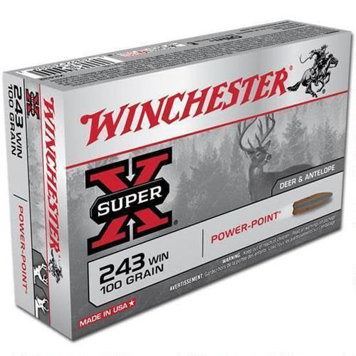 WINCHESTER Winchester 243 Win 100gr Power Point?>
