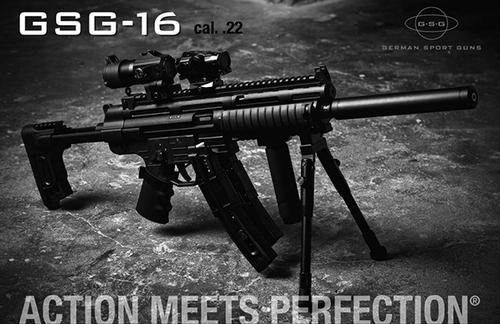 German Sport GSG-16 Semi 22LR Rifle 16.25″ Barrel Non-Restricted?>