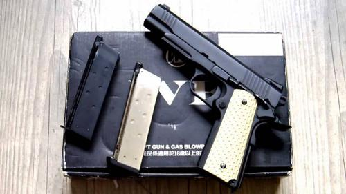 we WE 1911 Airgun Black kimber?>