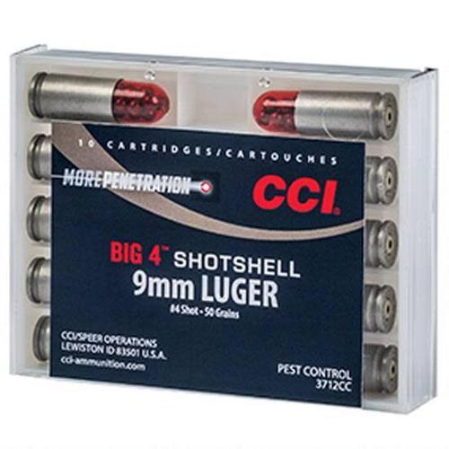 CCI CCI Big 4 Shotshell 9mm Luger #4 Lead Shot 10 Rounds?>