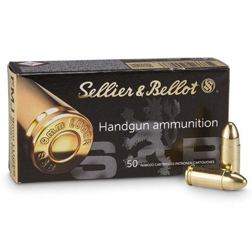 Sellier & Bellot (S&B) 9mm PARA 124 FMJ 1000rd?>