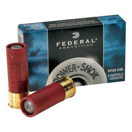 "Federal Federal Power-Shok .410 Bore 5 Rounds 2.5"" MAX., 1/4oz. Rifled Slug?>"