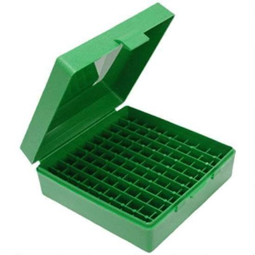MTM Case-Gard P-100 Original Series Flip Top Handgun Ammo Box 9mm 100 Rounds Green P-100-9-10?>