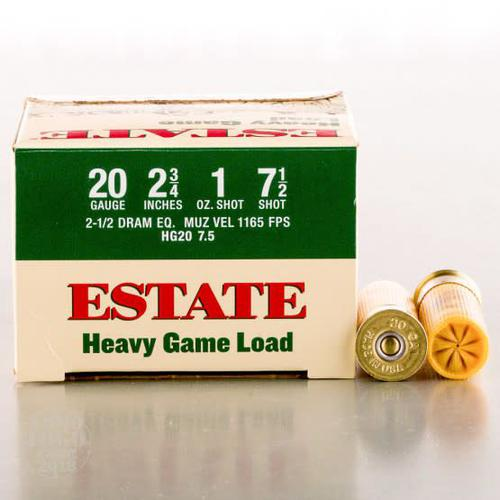 Estate Estate Heavy Game Load 20ga 2 3/4'' 1 oz 7.5?>