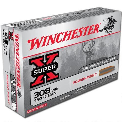WINCHESTER Winchester 308 Win 150gr Power Point?>