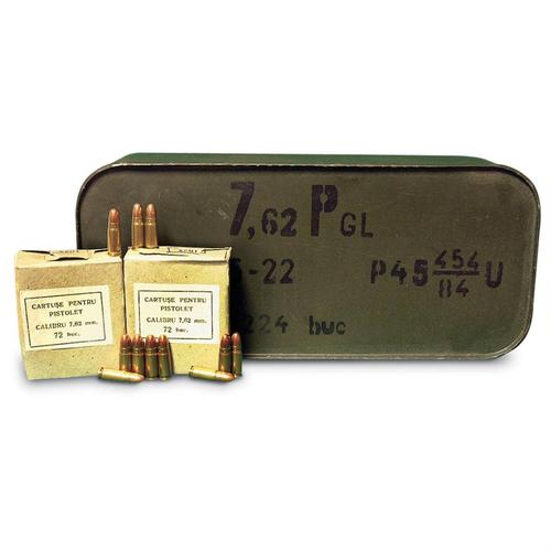 7.62 x 25MM AMMO, 2520RDS?>