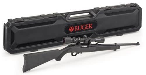 "Ruger 10/22 Scope Combo with Case 22LR SYN 18.5""?>"