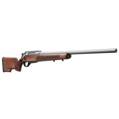 "Lightgow Arms LA102 Crossfire Rifle B.A 308WIN 4rs 22"" Threaded Barrel Walnut Stock Titanium Finish?>"