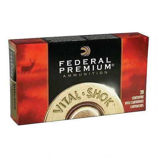 Federal Federal Ammunition Vital-Shok 30-06 Springfield Trophy Bonded Bear Claw Bullet, 200 Grains, 2540 fps, 20 Round Box, P3006T5?>