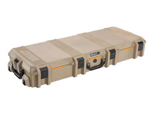 Pelican Vault V730 Tactical Rifle Case With Foam TAN?>