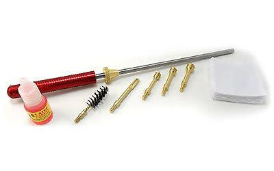 Pro-Shot Pro-shot  Stainless Competition Cleaning Kit .38/.357/9mm/.40/10mm/.45 cal up to 8''?>