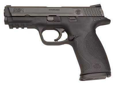 Smith & Wesson Smith & Wesson M&P 40 Semi Auto Pistol 40 , 4.25 in Interchangeable Backstrap Grp, 10+1 Rnd, Blk Frame?>