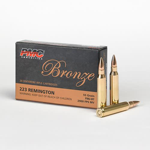 PMC .223REM 55GR FMJ-BT  1000RS?>