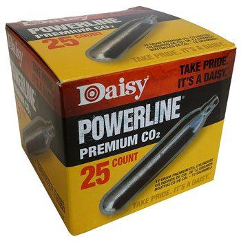 Daisy Powerline CO2 Cylinders / 25-Pack?>