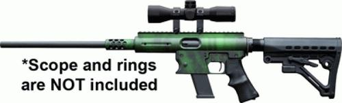 TNW AERO SURVIVAL RIFLE 9MM 18.6'' Barrel, Tiger Green, with **Free 9mm TNW Magazine**Limited time offer**?>