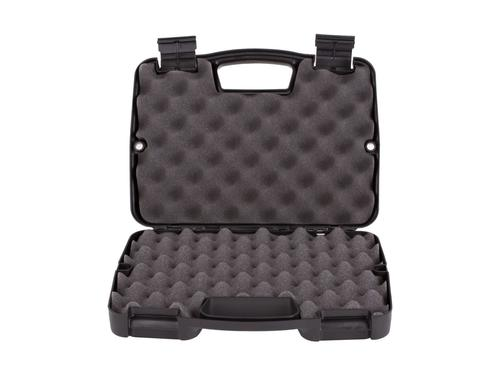 "PLANO SINGLE PISTOL GUN CASE 7.5""W X 2.75""H BLACK?>"