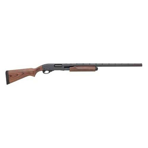 Remington 870 Express Pump Shotgun  RH, 4+1 Rnd, Rem, Vent Rib, 3 in 12Ga 26/20 In Black wood?>
