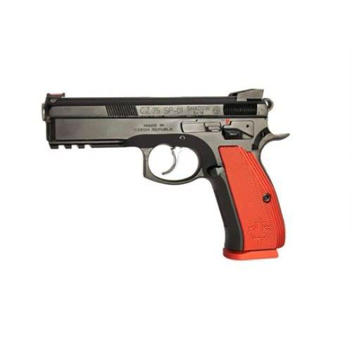 CZ 75 Shadow Canadian Semi-Auto Pistol, 9MM, black steeel frame, red alum grip, 10 rnd,?>