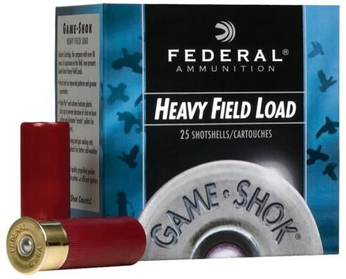 "FEDERAL HEAVY FIEL LOAD 12GA 2 3/4"" #6?>"