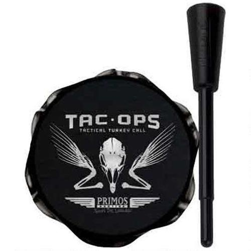 Primos Tac-Ops Tactical Turkey Pot Call Aluminum Black 277?>