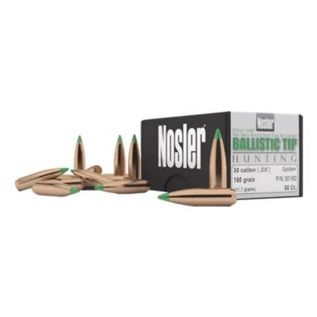 Nosler BT 30 Cal 168 Gr SP-50 CT?>