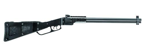 Chiappa Chiappa M6 Folding Rifle/Shotgun Combo 22 LR | 12 GA w/X-Caliber 12Ga Adapter Set Blued Rem Choke PPS Foam & Steel Stk w/Cleaning Kit?>
