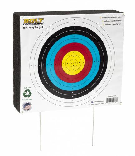 BOLT Crossbow Bolt Crossbows 16'X18'' Archery Target for Entry Level?>