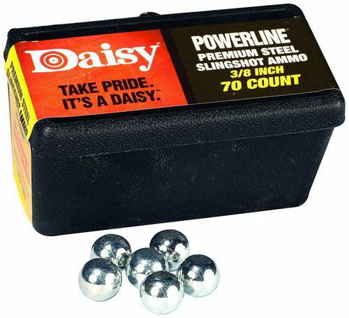 Daisy Powerline Premium 3/8 Inch Slingshot Ammo 70 Count?>