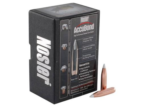 Nosler AccuBond 6.5mm 264 Cal 130 Grain Spitzer 50/Box?>