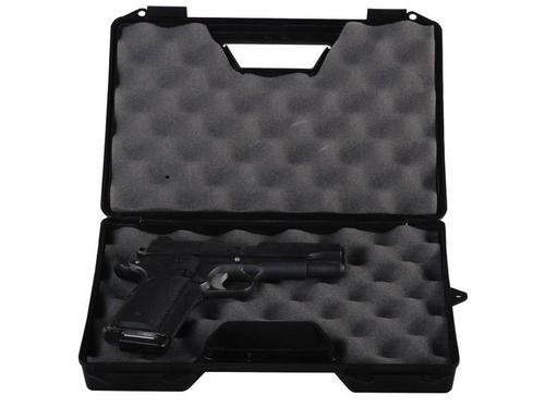 MTM Single Handgun Case - black?>