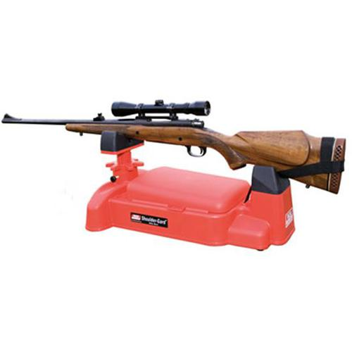 MTM Shoulder Gard Rifle Rest Red?>