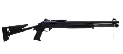 Benelli M4 12 Gauge Tactical Semi-Auto Shotgun With Collapsible Pistol Grip Stock Non-Restricted?>